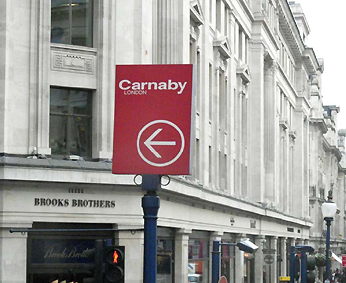 Carnaby sign