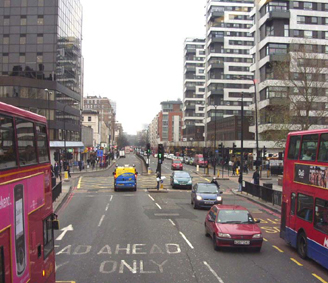 Edgware Road Towards Marble Arch From The No 15 Bus