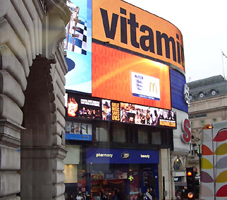Piccadilly Circus signs