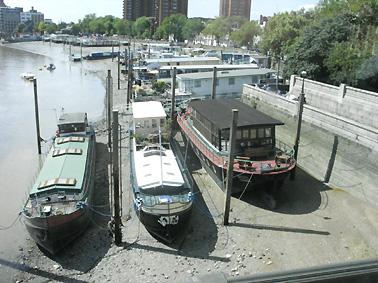Chelsea houseboats