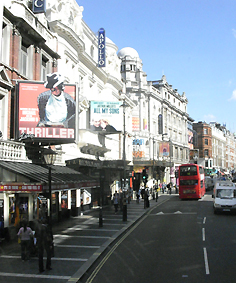 Shaftesbury Avenue theatres