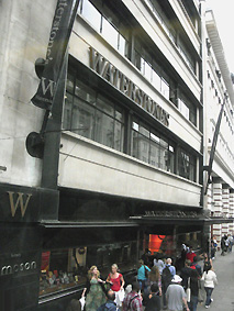 Waterstones bookstore on Piccadilly
