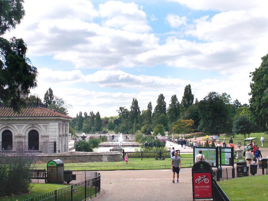 Italian Gardens Kensington Gardens