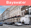 View of Bayswater in London