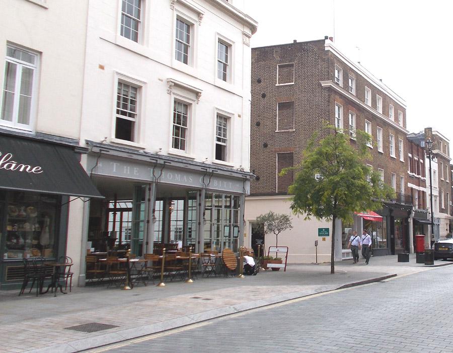 Thomas Cubitt pub in London's Belgravia