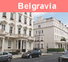 View of Belgravia in London