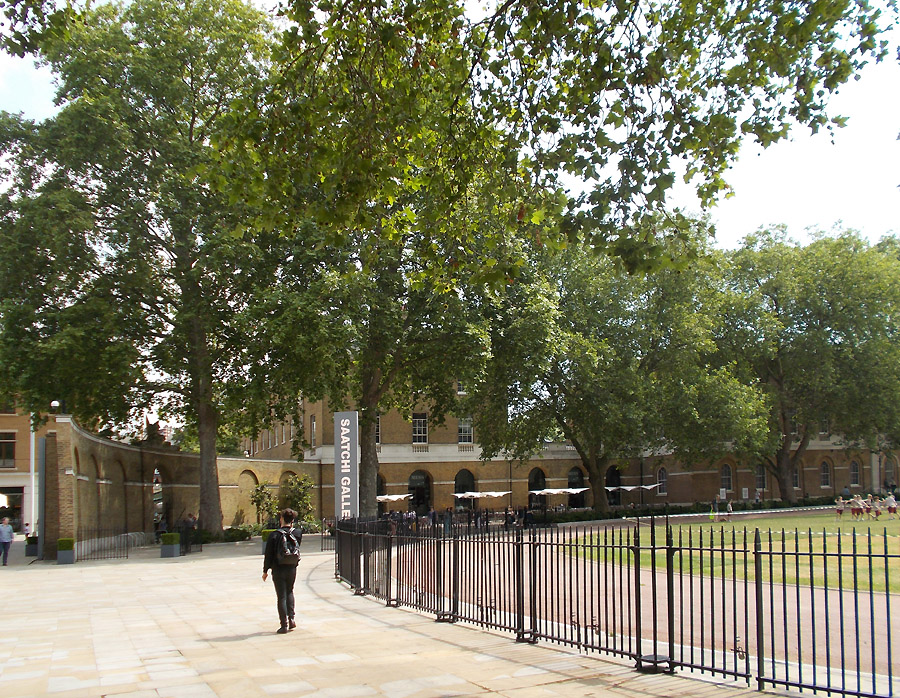 The Saatchi Gallery in London's Chelsea