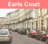 View of Earls Court in London