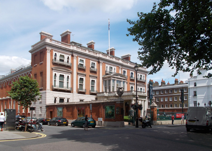 The Wallace Collection is at Hertford House in Manchester Square