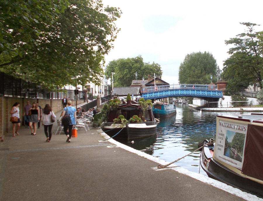 Little Venice in London's Paddington