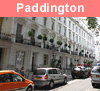 View of Paddington in London