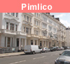 View of Pimlico in London