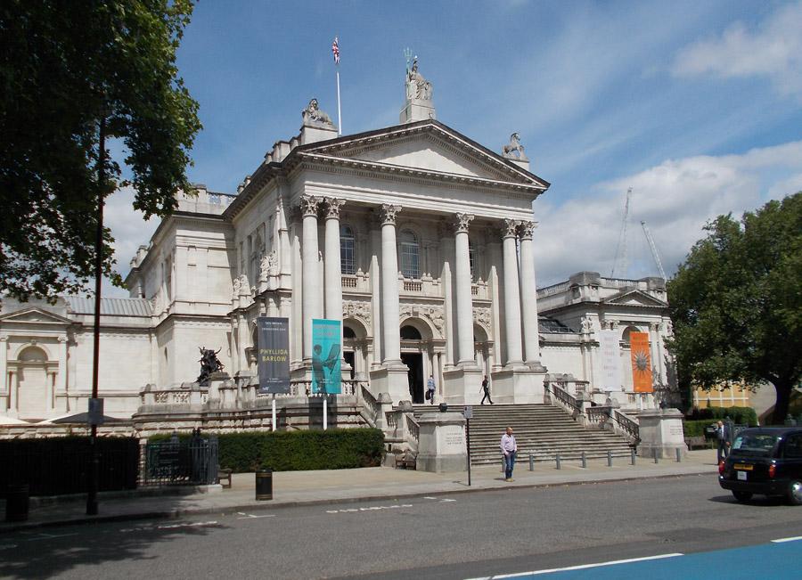Tate Britain art gallery in London's Pimlico