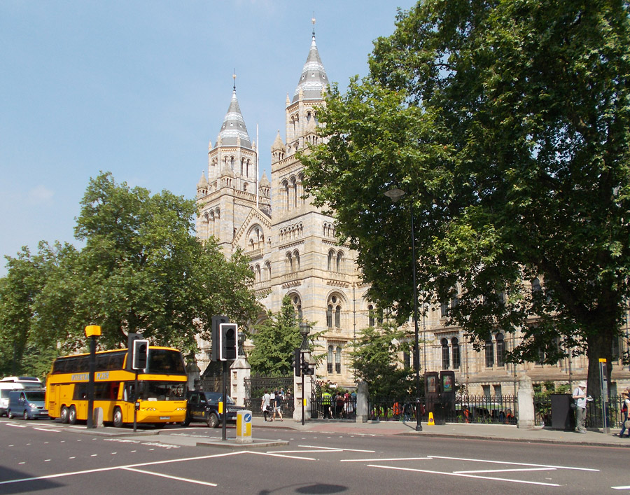 The museums in London's South Kensington