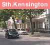 View of South Kensington in London