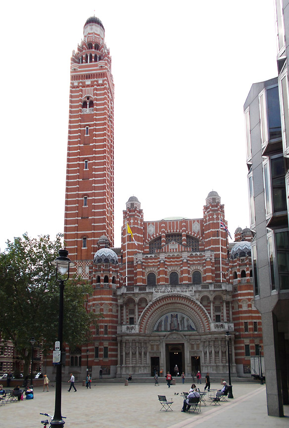 Westminster Cathedral in London's Victoria