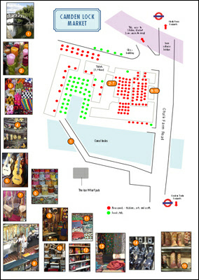 London Market Maps And Plans