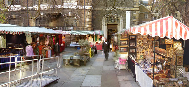 Piccadilly Market at St. James's Church