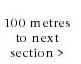 100 metres to next section of Brick Lane