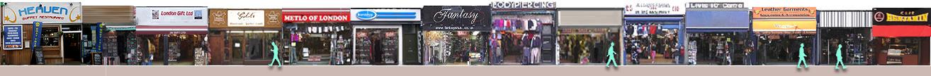 Camden High Street shops