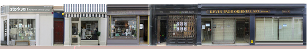 Camden passge shops