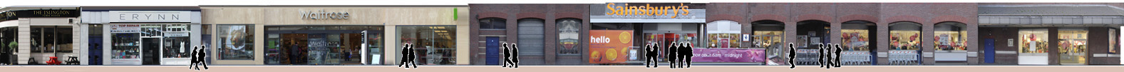 Shops on Liverpool Road Islington