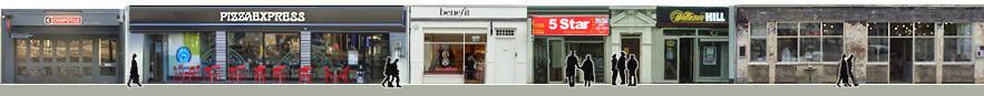 Upper Street shops and restaurants