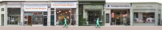 Kensington Church Street shops