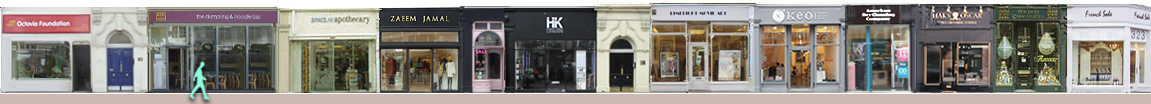 King's Road shops