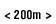 200m walk