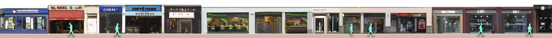 Brompton Road shops
