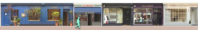 Shops on Walton Street
