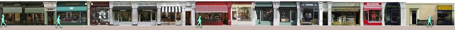 Chiltern Street shops