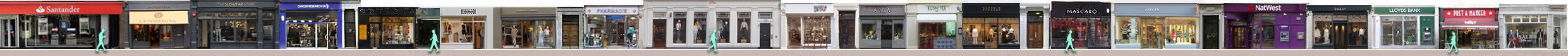 marylebone-london High Street shops