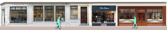 marylebone-london High Street shops and restaurants