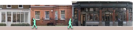 Shops on marylebone-london Lane