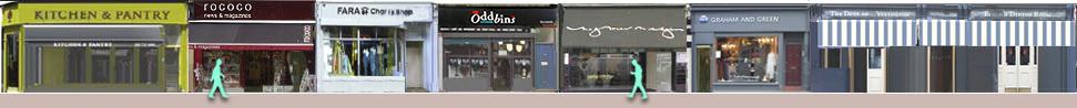 Elgin Crescent shops