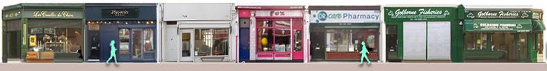 Golborne Road shops and restaurants