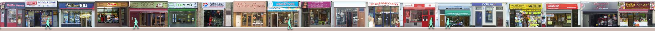 Harrow Road shops