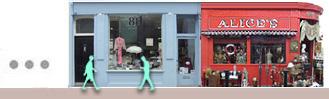 Antique shops on Portobello Road