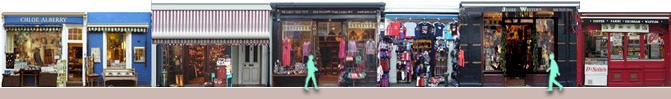 Portobello Road antique shops