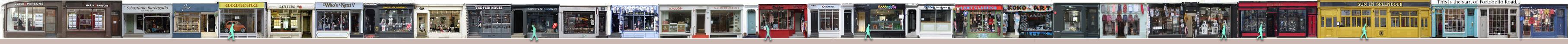 Pembridge Road shops