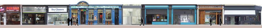 Shoreditch High Street shops and restaurants