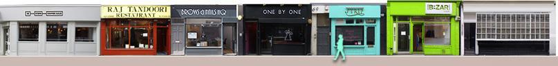 Berwick Street shops and restaurants
