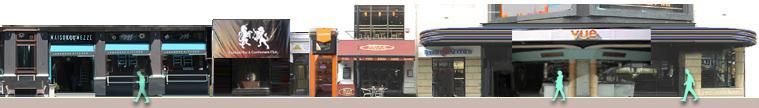 Cranbourne Street cafes and venues