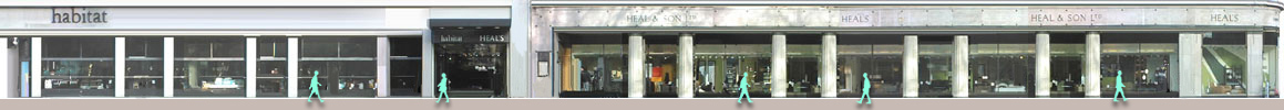 Heals store in Tottenham Court Road