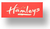 Hamleys shop sign