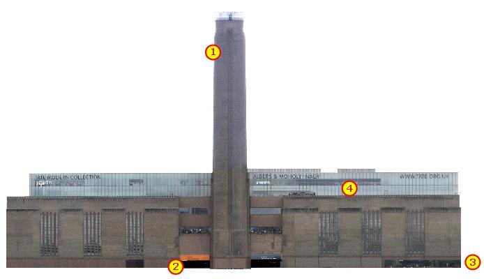 Tate Modern art gallery in London