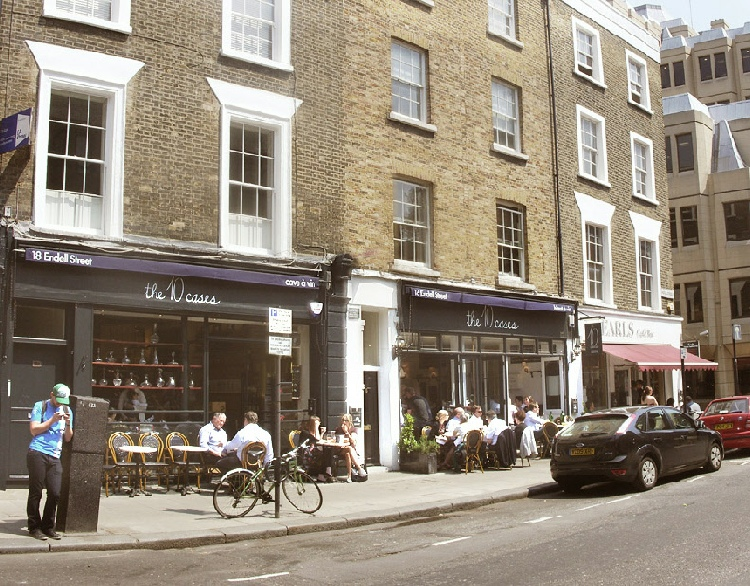 10 Cases Wine Bar in London's Covent Garden