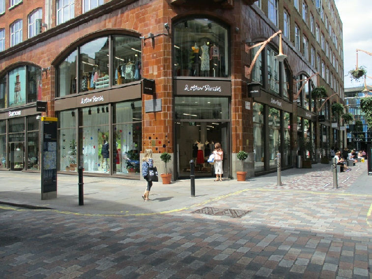 And Other Stories shop on Long Acre in London's Covent Garden